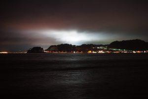 Skyglow in Japan